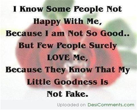 I Am Not Fake Quotes