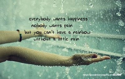 Theres A Rainbow Always After The Rain Happiness Quote