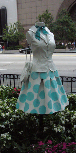 dress in garden