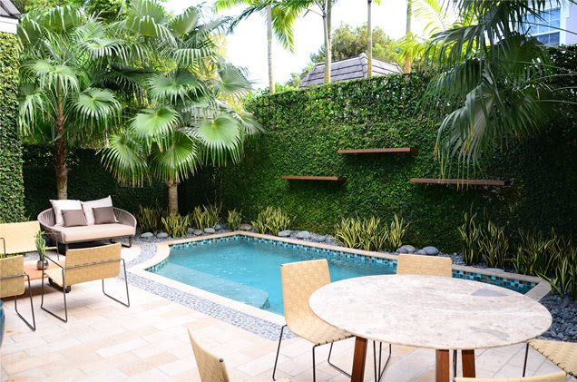 Swimming Pool - Miami, FL - Photo Gallery - Landscaping Network