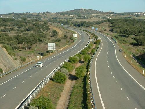 A6 - Auto-estrada da Marateca/Caia - Zona de Vila Boim