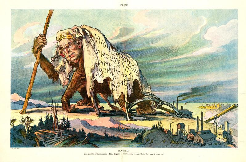 Udo J. Keppler - Illustration in Puck, v. 74, no. 1906 (1913 September 10), centerfold