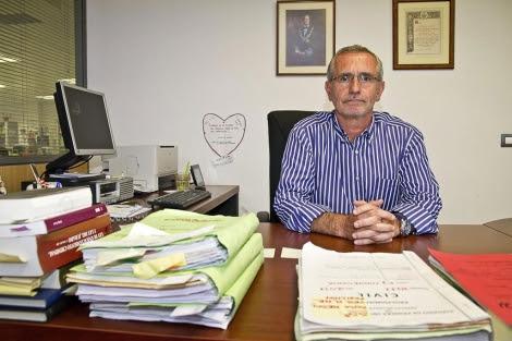 El juez JuanJoséCoboPlana, durante una entrevista. | Efe