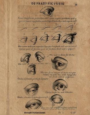 Fludd - Pars V Liber Teritius p331 eye sketches