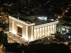 O Templo de Salomão, no Brás, em São Paulo (Foto: Divulgação)