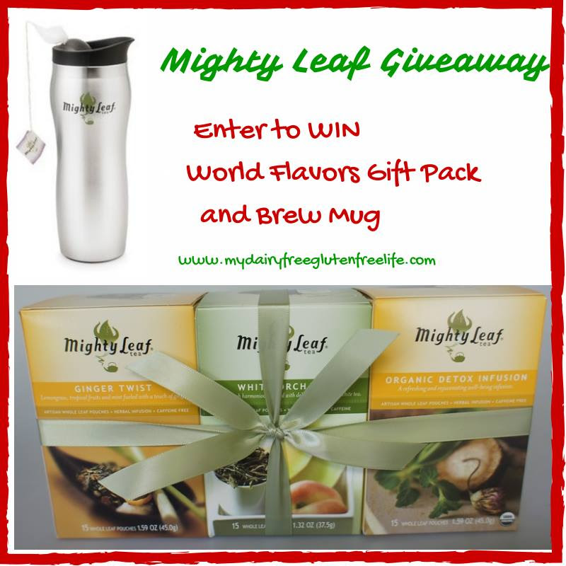 Might Leaf World Flavor Tea Sampler & Brew Mug Giveaway