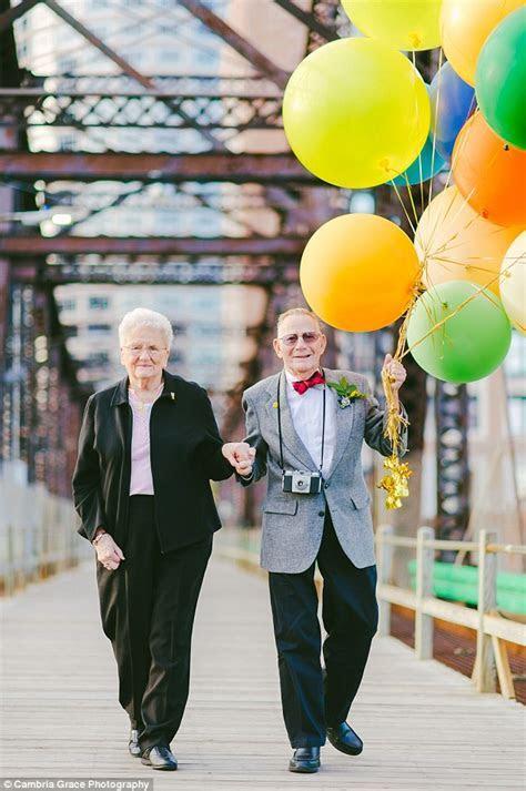 Elderly couple whose wedding photographer stood them up 61