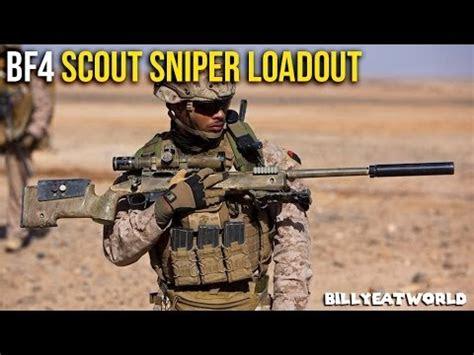 battlefield  ps usmc scout sniper loadout ma
