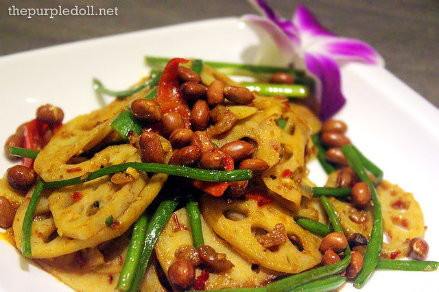 Stir-Fried Lotus with Sambal (P245)