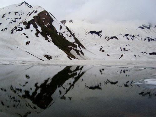 Half Frozen Dudipatsar Lake