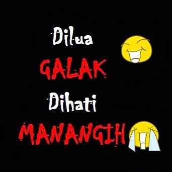 gambar kata kata lucu bahasa minang kabau padang terbaru
