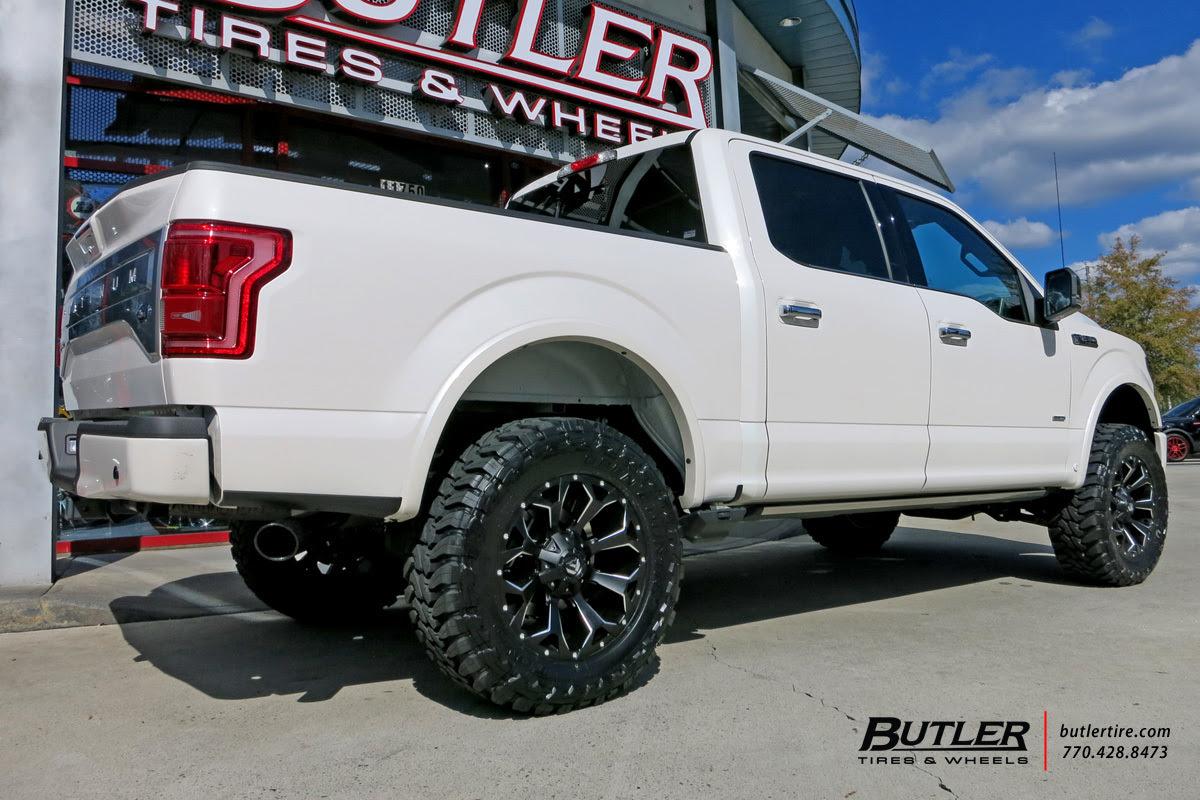 Ford F 150 Custom Wheels Fuel Assault 20x Et Tire Size