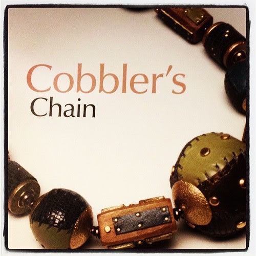 By Melissa Cable from beautiful leather jewelry