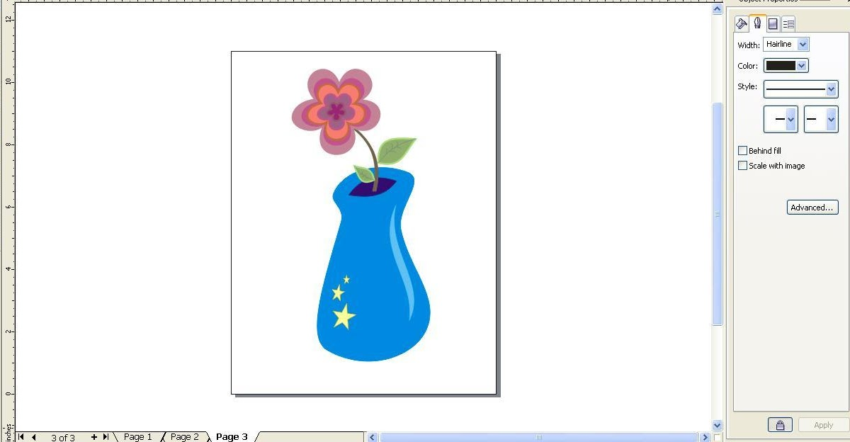 Gambar Vas Bunga Dan Bunganya Yang Mudah Kumpulan Gambar Bunga
