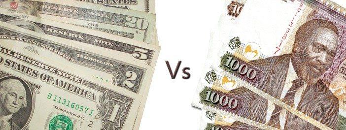Us Dollar To Kenyan Shillings