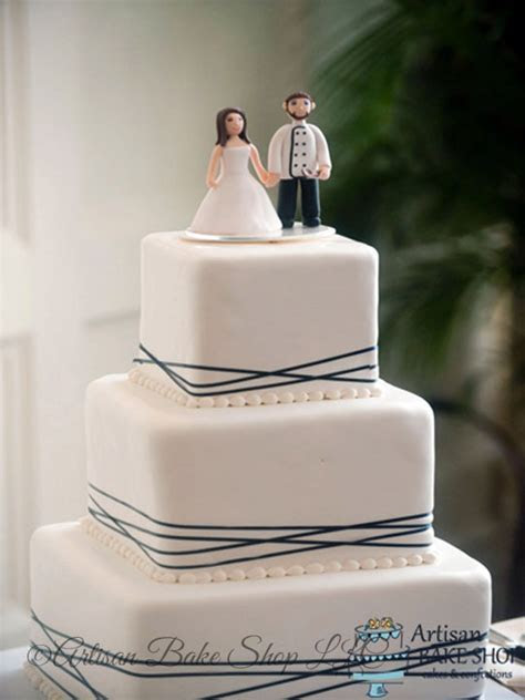 Elegant Custom Wedding Cakes, Elegance & Glamour Wedding