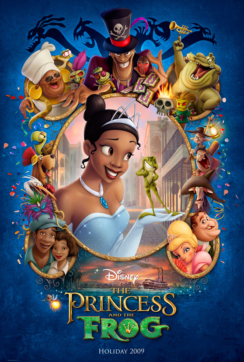 Disney S Princess And The Frog Movie Poster Desktop Wallpaper