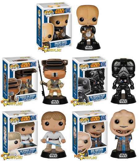 Star Wars Funko Pop August Release Update | Anakin and His Angel