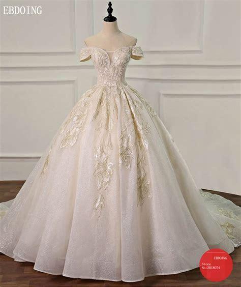 Vestidos De Novia Ball Gown Wedding Dress Boat Neck Short