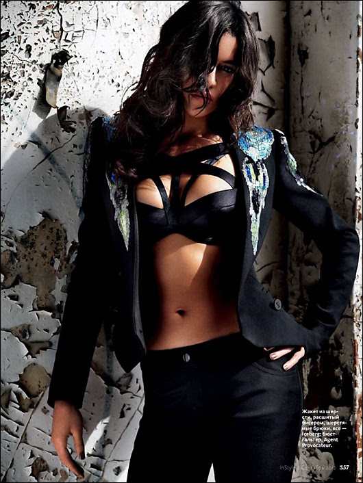 michelle rodriguez in-style russia