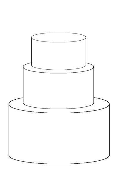 Cake Template (Love) on Pinterest   Templates, Sketches