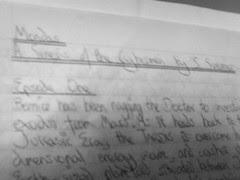 Handwritten Mondas, by me