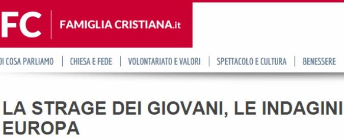 """Isis e Siria, Scaglione (Famiglia Cristiana): """"Seguiamo la Russia, Putin non è il male. Le bombe francesi? Propaganda"""""""