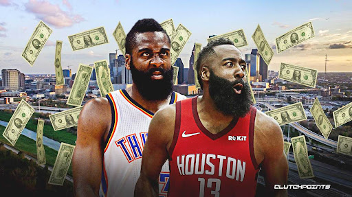 Avatar of James Harden's NBA contracts