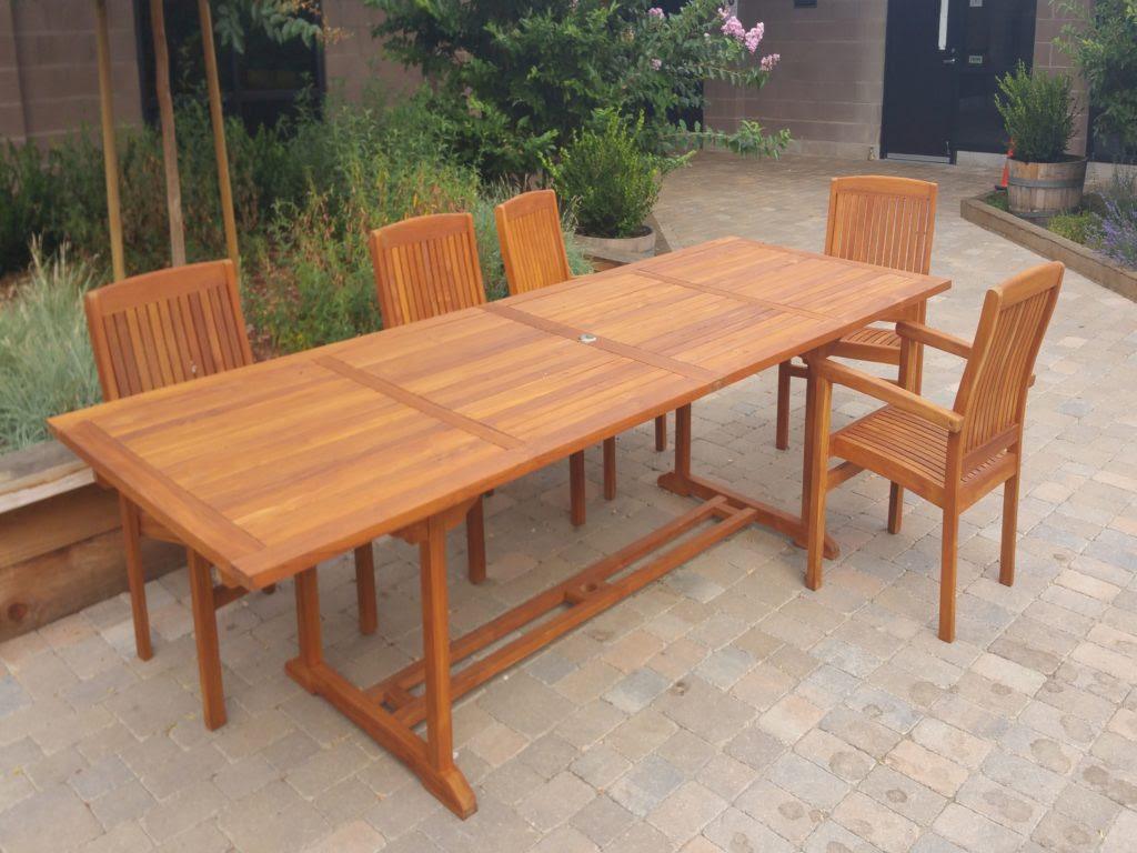 Teak Furniture   Cal Preserving