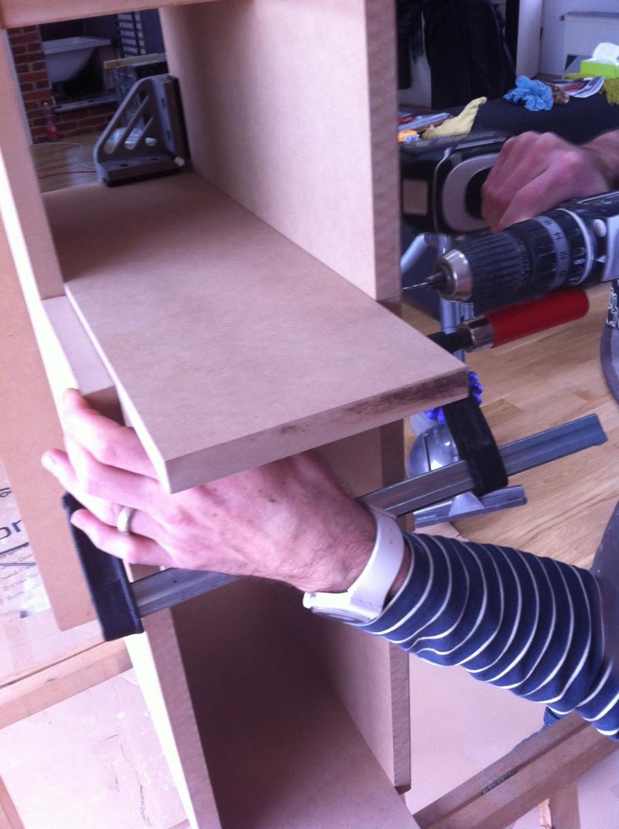 Bau eines Kuechenschraenkchens - 6
