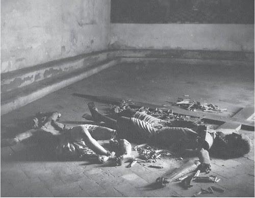 Convento de Santa Isabel. Grupo escultórico destrozado del Siglo XIII