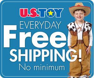 US Toy Company - Everyday Free Shipping,No Minimum