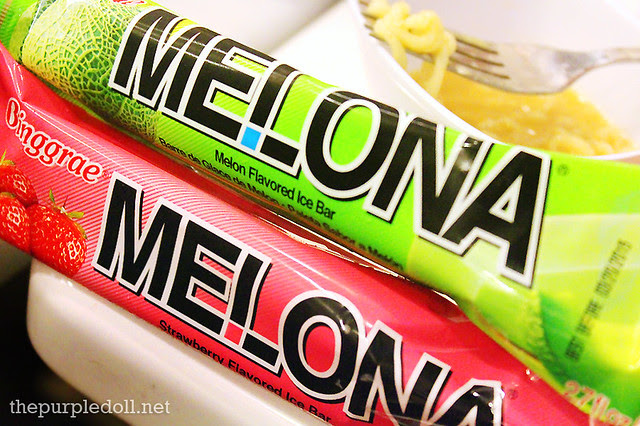 Melona Ice Cream Melon and Strawberry