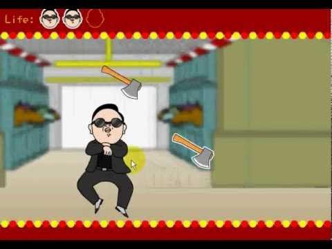 วีดีโอตัวอย่างการเล่นเกมส์เต้นกังนัมสไตล์ Gangnam Style Dance