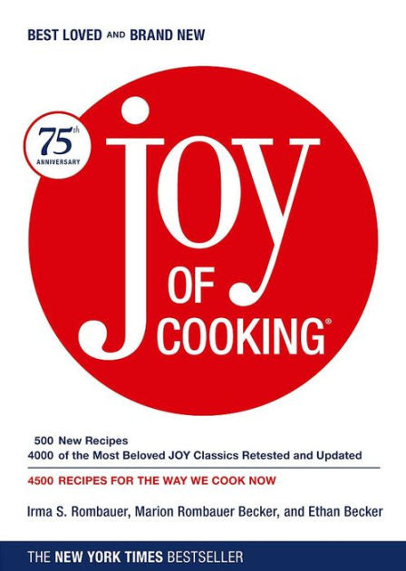 Joy of Cooking 75th Anniversary Edition by Irma S Rombauer Marion