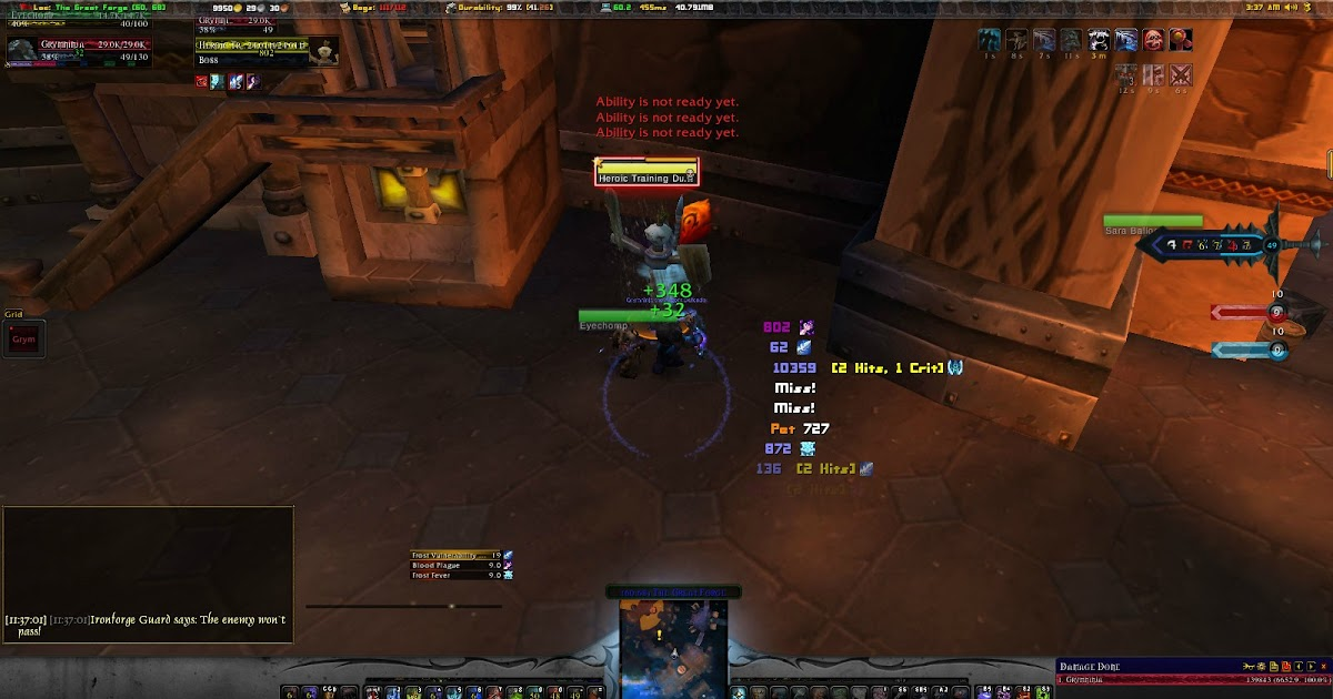 Warmane Guides And Updates Pve Frost Death Knight Dps Guide