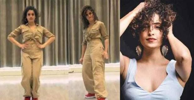 Sanya Malhotra performance on Naezy's aafat, Rocked the dance floor