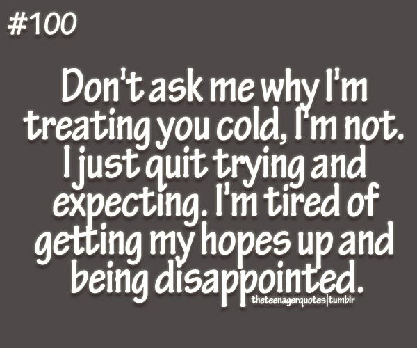 Quotes About I Am Disappointed 53 Quotes