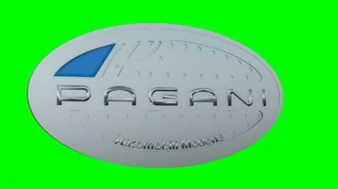 pagani logo pagani car logo vector