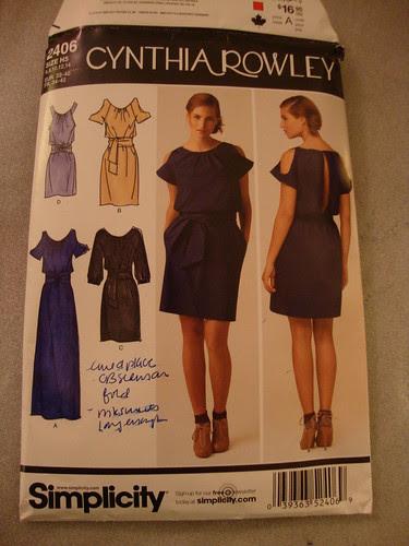 Simplicity 2406 Cynthia Rowley