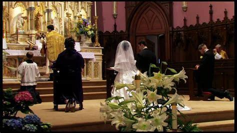 Traditional Latin Catholic Wedding Mass   Part 3
