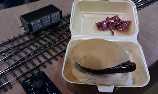 Triple Sausage Bap