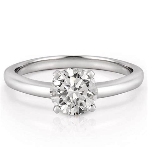 Classic Solitaire Ring   Solitaire Engagement Ring   Asha