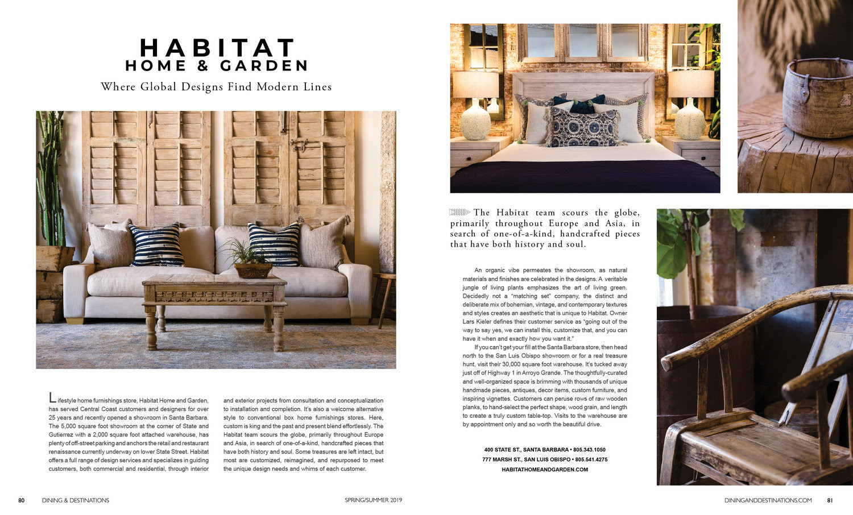 Habitat Home And Garden Dining Destinations