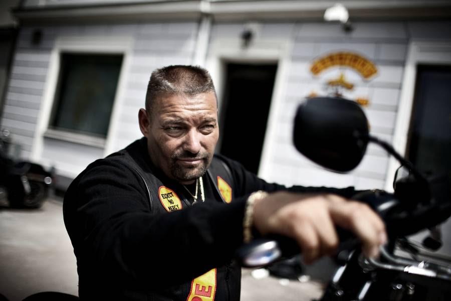Den tidligere Bandidos-boss Jim Tinndahn, 53, er blevet afhørt i Sverige. (Foto: Joachim Adrian)