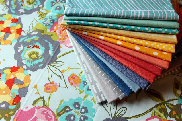 My Bundle for Pink Castle Fabrics + My very favorite LillyBella print = LOVE!