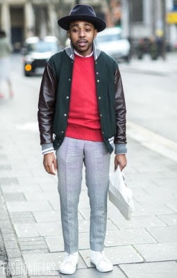 Nigel Ruwende, Photographed in London<br/> Click Photo To See More