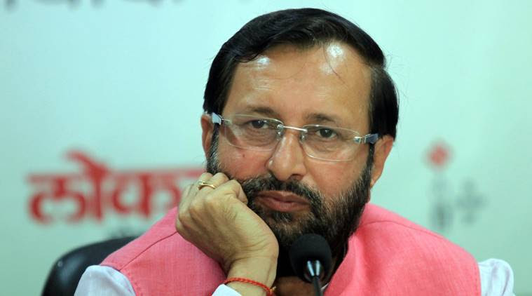 Prakash Javadekar, education minister, india literacy rate, 100 per cent literacy rate, hrd ministry, indian express news