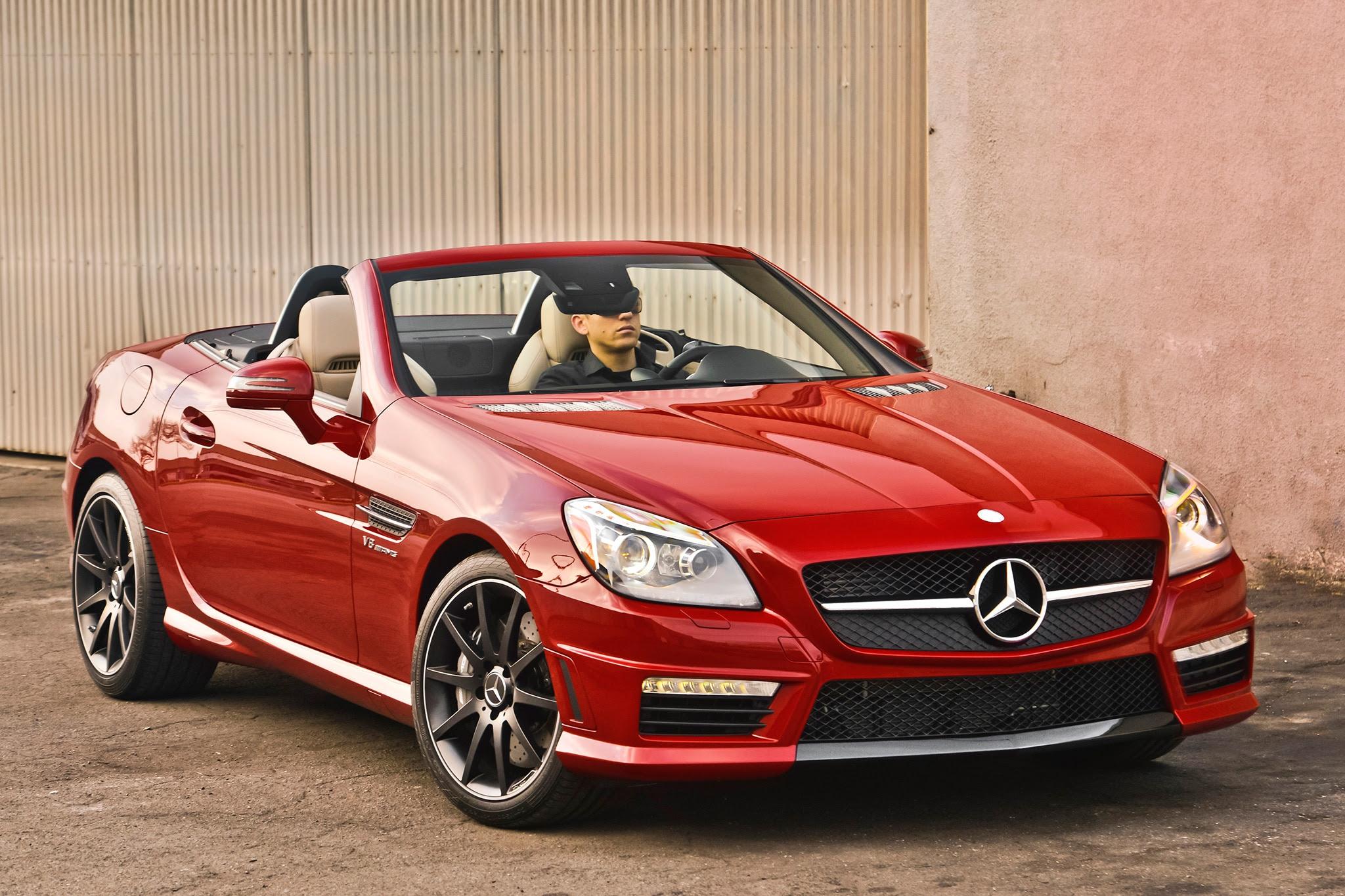 2016 Mercedes-Benz SLK Updated with New Engine