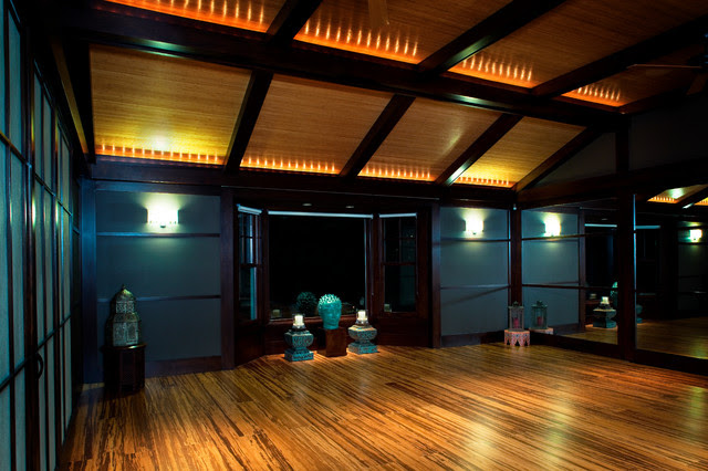 Private Yoga Studio - contemporary - home gym - omaha - by The ...